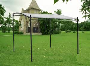 Gazebo Shade Screen by Metal Wall Gazebo Awning Canopy Pergola Shade Marquee