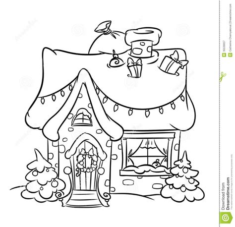 snowy house coloring pages christmas snow house painting and drawing pinterest