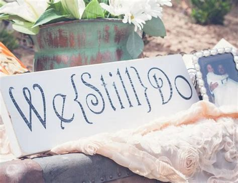Wedding Anniversary Renewal Ideas by Tips For Planning Your 25th Anniversary Vow Renewal Ceremony