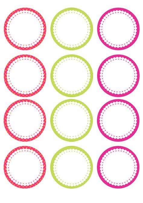 printable round gift tags summer party mini kit free printable