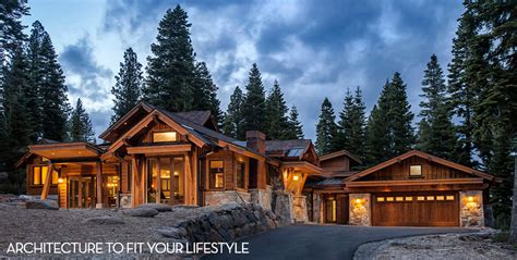 Rustic Mountain Cabin Cottage Plans borelli architecture incline village at north lake tahoe