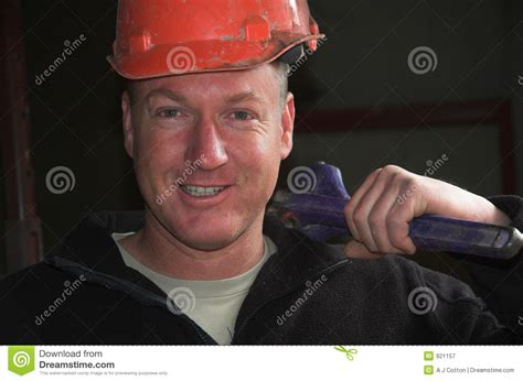 Friendly Plumber Friendly Plumber Royalty Free Stock Photography Image