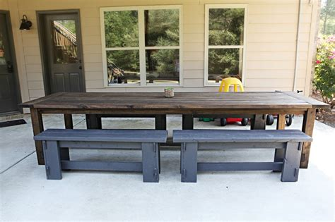 large outdoor table home