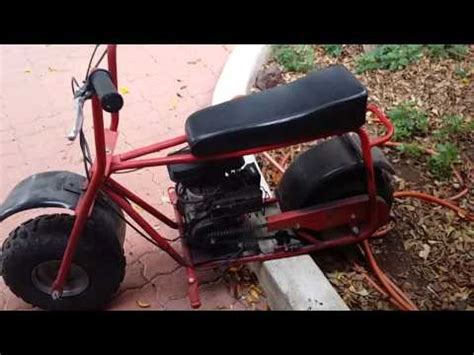 doodle bug mini bike wiki baja doodle bug minibike clutch maintanence