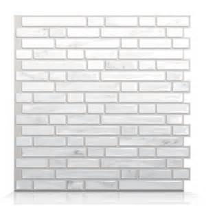 smart tiles sm1044 bellagio marmo self adhesive wall tile