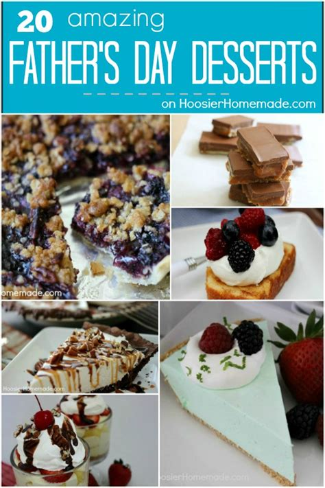 fathers day desert s day desserts