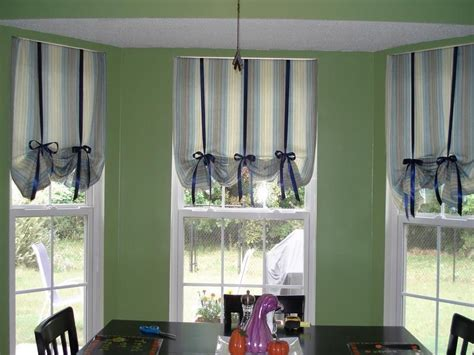 kitchen bay window curtain ideas kitchen curtain ideas for kitchen kitchen bay window