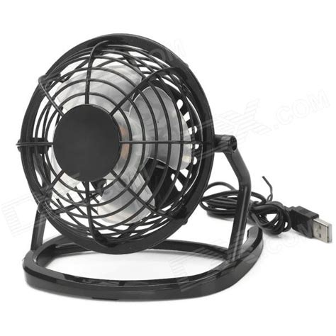 usb powered car fan ob o816 usb car cigarette lighter powered 4 blade fan w