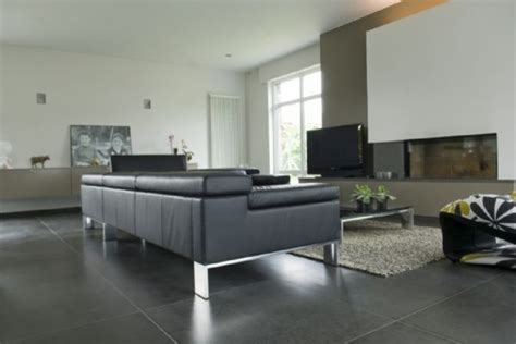 grey tile living room classic basalt tile honed stoneskin mosaic contemporary