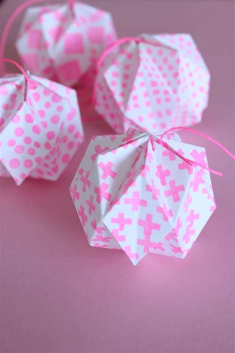 How To Make Paper Lantern Balls - 17 best ideas about origami on diy paper