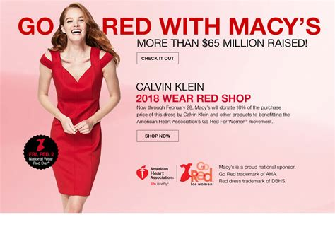 Shop For A Cause Productred Is More Than Tees by Macy S Shop Fashion Clothing Accessories Official
