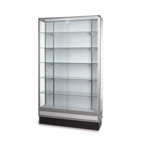 wall case display case full vision glass wall case