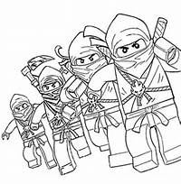 Lego Ninjago Coloring Pages To Print Pictures Pin On