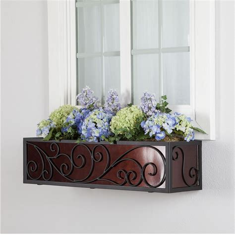 window box cage iron planter cages with window box liners hooks lattice