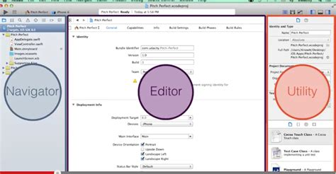 xcode project layout ios mobile development my first ios application using swift