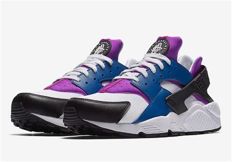 Jual Nike Huarache Original nike air huarache blue hyper violet black white 318429 415 sneakernews