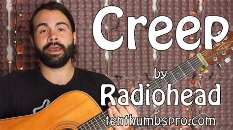 tutorial guitar creep creep radiohead guitar tutorial youtube