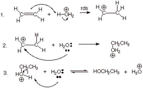 hydration mechanism acid catalyzed hydration organic chemistry socratic