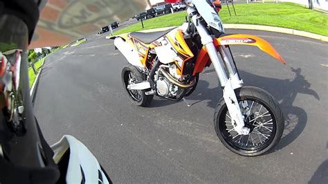 Ktm 350 Supermoto Walk Around Of My Supermoto