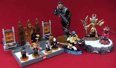 Deus Ex Mankind Divided Collector Edition Statue gift ideas for gamers include lego dimensions fantastic beasts and where to find them