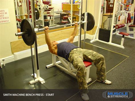 different types of bench press machines smith machine bench press video exercise guide tips