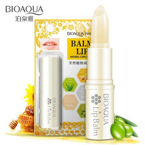 Lipstik Skin Care bioaoua plant smooth lip balm moisturizing skin care lipstick lipbalm makeup