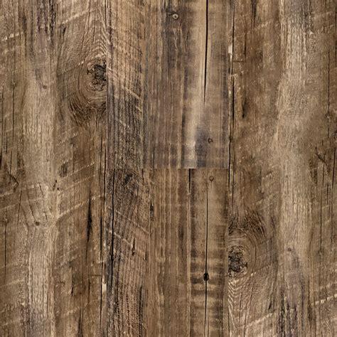 3mm Rustic Reclaimed Oak Click Resilient Vinyl