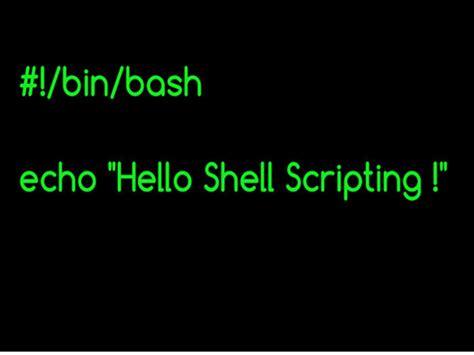 online tutorial unix shell scripting videocast shell scripting part 1 unixmen