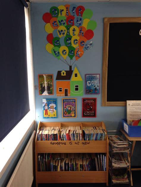 themes for reading corners disney pixar up themed book corner kassi s classroom