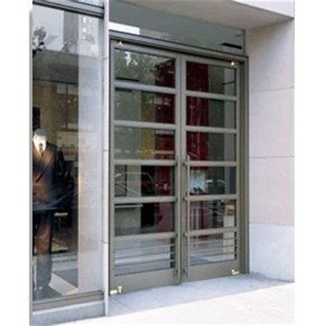 Double Exterior Commercial Glass Doors Ellison Bronze Commercial Exterior Glass Doors