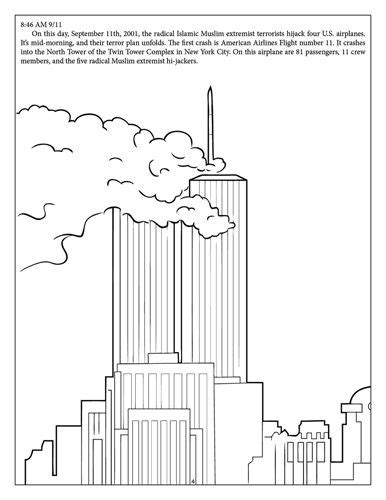 coloring pages of world trade center 30 best 9 11 01 images on pinterest trade centre