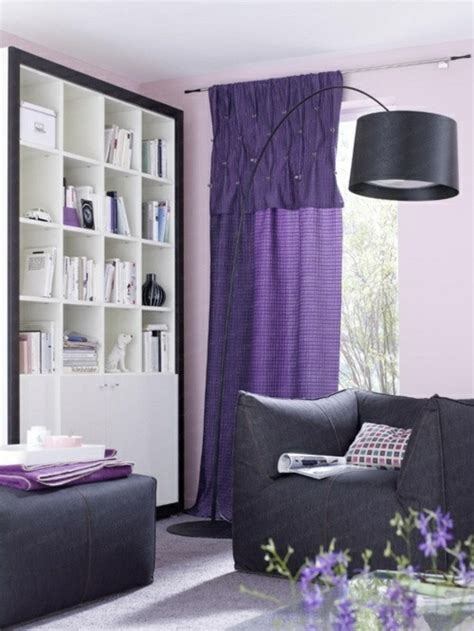 lila gardinen 50 gardinen in lila hauchd 252 nne stoffe und feminines flair