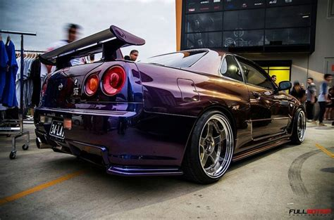 midnight purple midnight purple ii or iii nissan gt r skyline r34 its