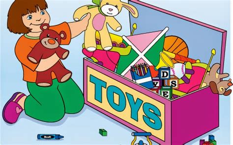 kids cleaning room clipart clean up toys clipart