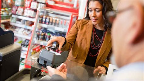 Go Shopping Pay With Your Cell Phone by Mobile Contactless Cards Payment Technology How It