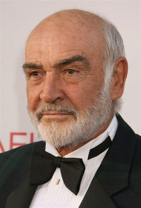 near bald haircuts sean connery