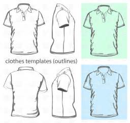 Polo Shirt Outline Vector s polo shirt design template outline vector image 5192 rfclipart