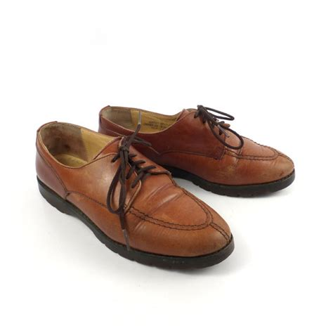 shoes similar to oxfords items similar to s oxfords shoes brown leather