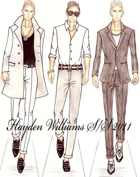 fashion design for man hayden williams fashion illustrations september 2010