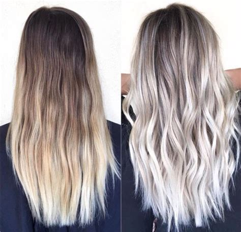 pictures of blondes who ombred their hair to have dark roots blonde ombre hair colors you should try hair world magazine