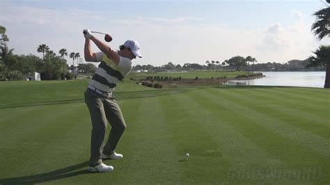 Golf Swing Driver by Golf Swing 2013 Rory Mcilroy Driver Dtl Draw