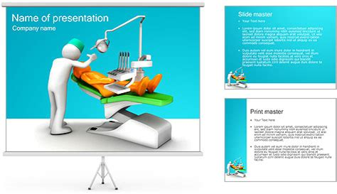 templates powerpoint work dentist work powerpoint template backgrounds id