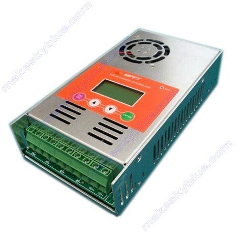 makeskyblue 40a mppt solar charge controller regulator for 12v 24v 36v 48vdc unbeatable price in