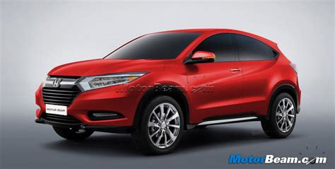 suv honda 2014 2014 honda suv production version rendered motorbeam