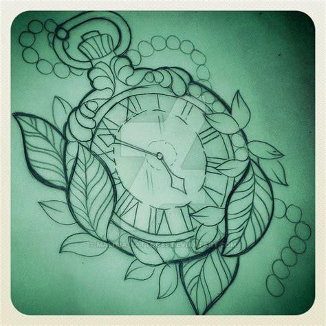 tattoo old school watch pocket watch tattoo by malitia tattoo89 on deviantart