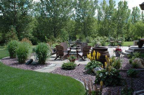 Backyard Pit Area by Backyard Pit Area Landscaping