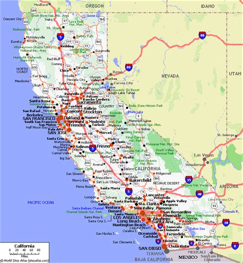 california map driving directions reisfotoboek california