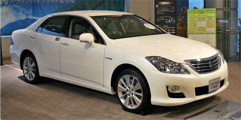 Crown Toyota Japanese Rides Toyota Crown Majesta Electric Cars And