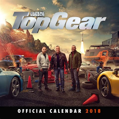 libro top gear official 2018 top gear calendars 2018 on europosters