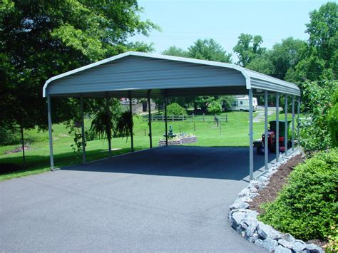Two Car Garage With Carport by Carports And More Carports Metal Carport Kits Garage Html